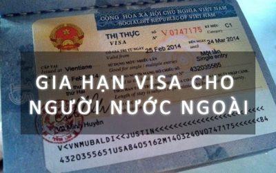 gia hạn visa du lịch cho người nước ngoài