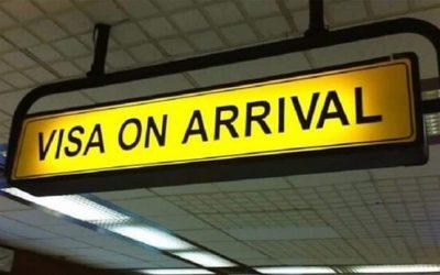 visa on arrival là gì