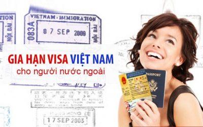 thủ tục gia hạn visa cho người nước ngoài